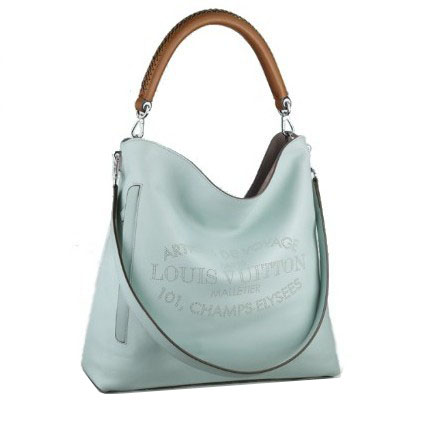 Louis Vuitton Bagatelle Parnassea Leather M94353 Azur