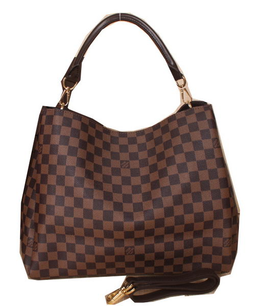 Louis Vuitton Damier Ebene Canvas Bagatelle M91671