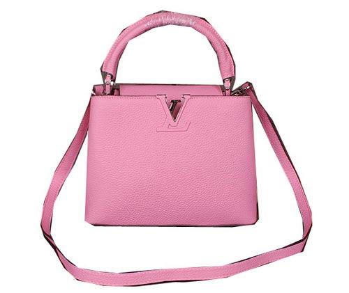 Louis Vuitton Elegant Capucines BB Bag M48870 Pink