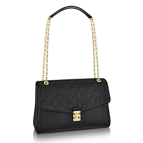 Louis Vuitton M48933 Monogram Empreinte St Germain MM Bag Black