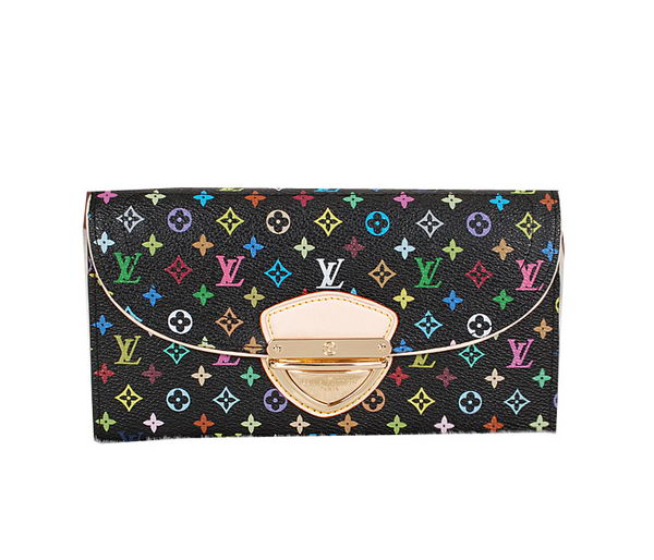 Louis Vuitton M93738 Monogram Multicolore Eugenie Wallet