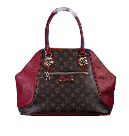 Louis Vuitton Monogram Canvas Tote Bag M46667 Burgundy