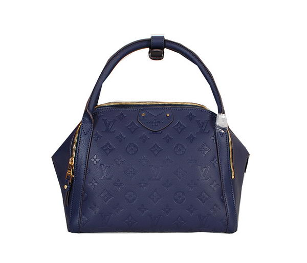 Louis Vuitton Monogram Empreinte Marais MM Tote Bag M41040 Royal