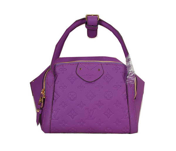 Louis Vuitton Monogram Empreinte Marais PM Tote Bag M41045 Purple