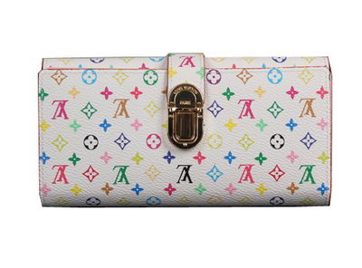 Louis Vuitton Monogram Multicolore Wallet M58288 White