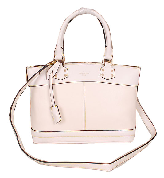 Louis Vuitton Suhali Leather LOCKIT PM Bags M43220 White
