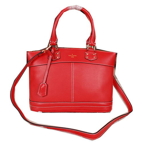 Louis Vuitton Suhali Leather LOCKIT PM M43220 Red