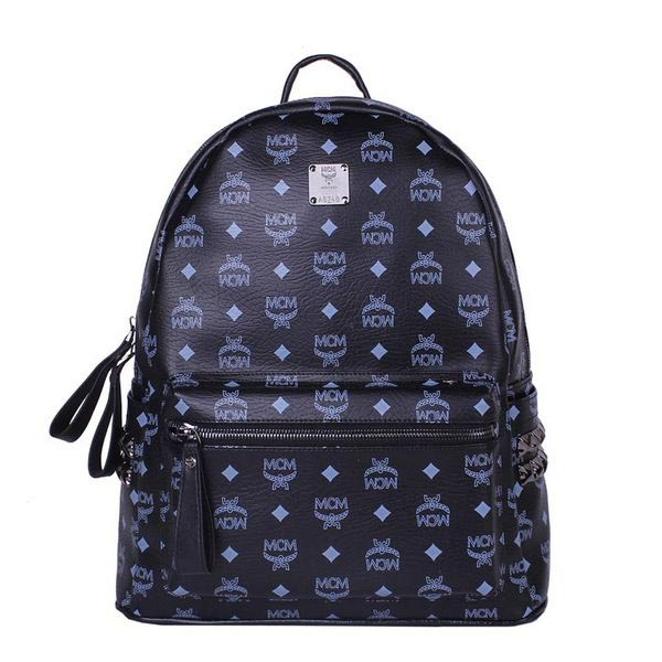 MCM Medium Stark Backpack MC2446 Black