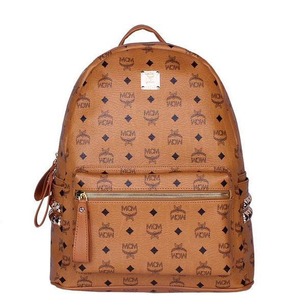 MCM Medium Stark Backpack MC2446 Wheat