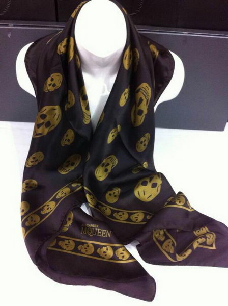 Replica MQUEEN Scarves Silk MQ16010 Purple