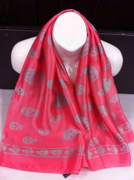 Replica MQUEEN Scarves Silk MQ16010 Red