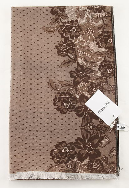Valentino Scarves Cashmere VT6735B Brown