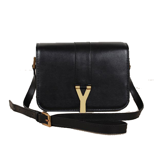 Yves Saint Laurent Large Chyc Shoulder Bag 7133 Black