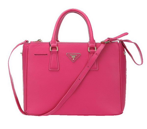 Prada 33CM Grainy Leather Tote Bag BN2274 Rose