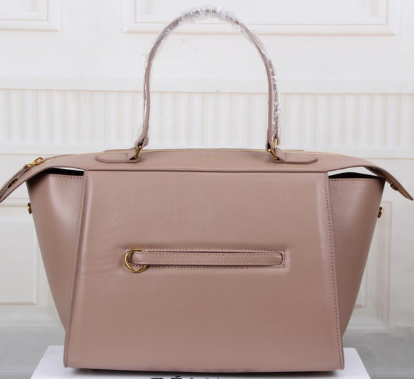 Celine Ring Bag Smooth Calfskin Leather 176203 Beige