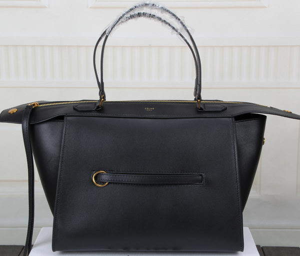 Celine Ring Bag Smooth Calfskin Leather 176203 Black