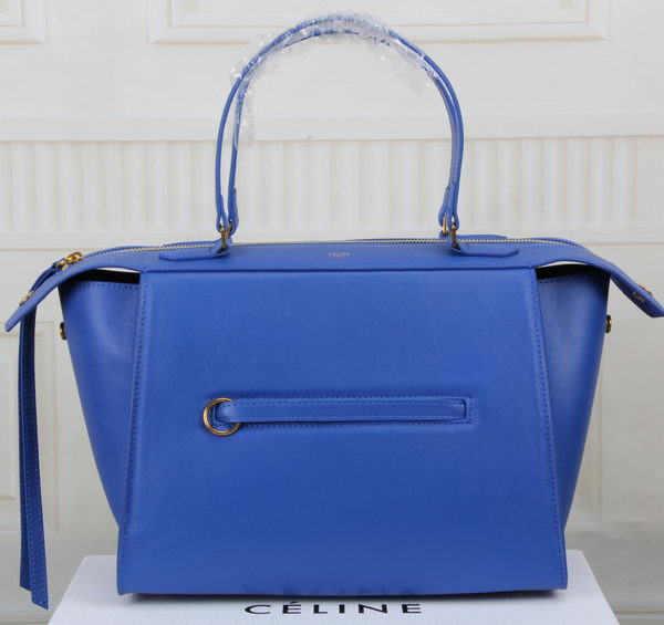 Celine Ring Bag Smooth Calfskin Leather 176203 Blue