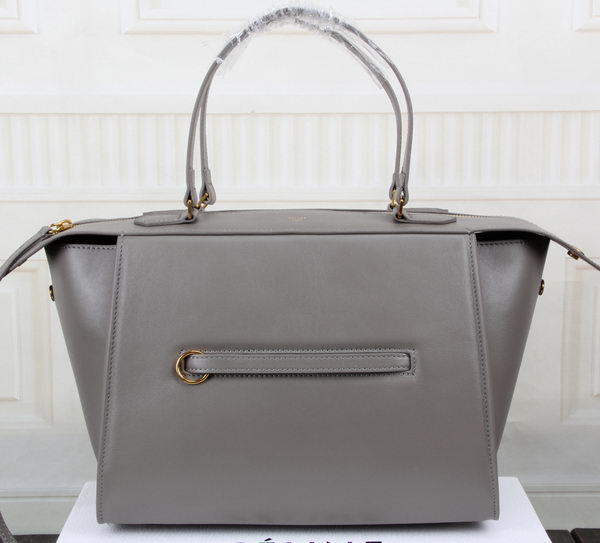 Celine Ring Bag Smooth Calfskin Leather 176203 Grey