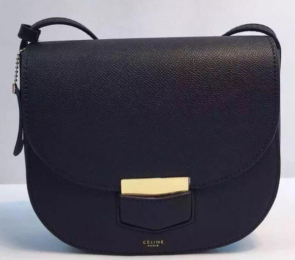 Celine Trotteur Bag Calfskin Leather CTA8002 Black