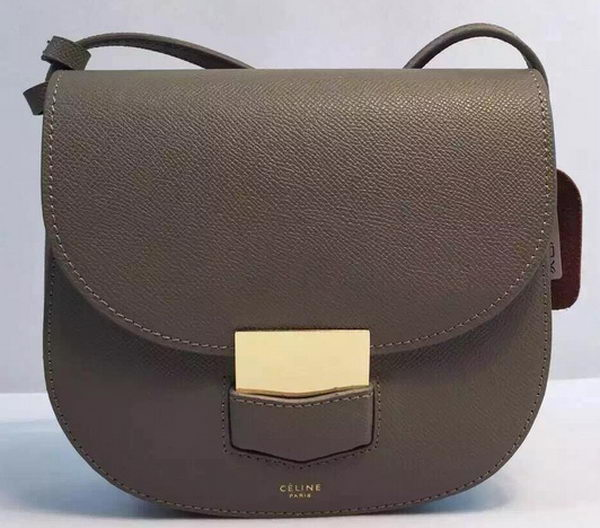 Celine Trotteur Bag Calfskin Leather CTA8002 Khaki