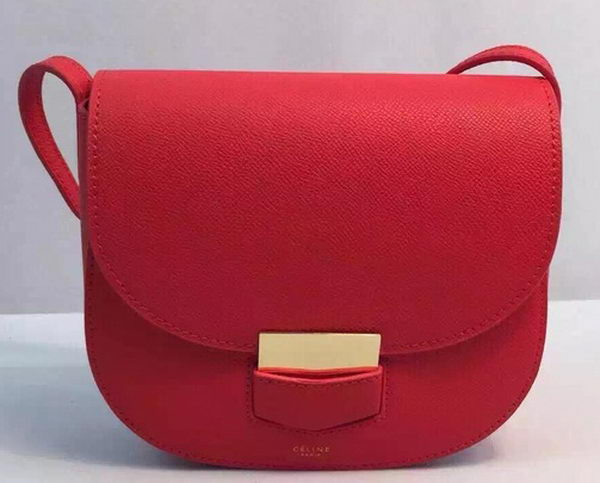 Celine Trotteur Bag Calfskin Leather CTA8002 Red