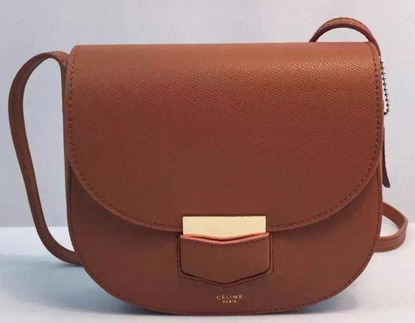Celine Trotteur Bag Calfskin Leather CTA8002 Wheat