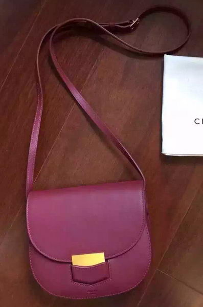 Celine Trotteur Bag Smooth Leather CTA4298 Burgundy