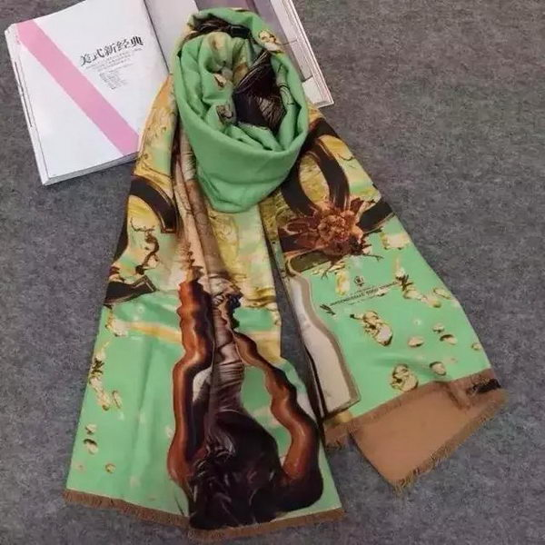 Chanel Scarves CH151101 Green