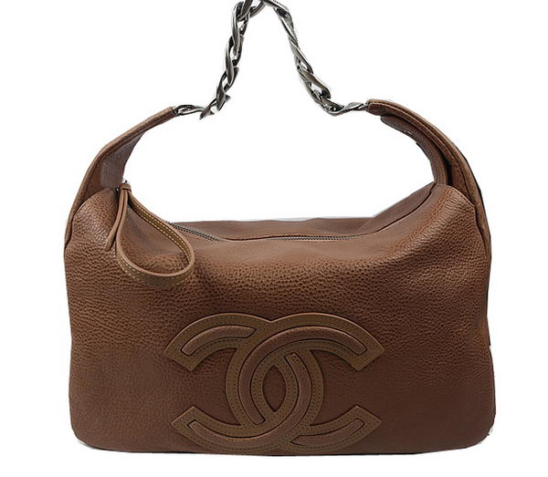Chanel Top Original Leather Hobo Bag A92170 Wheat