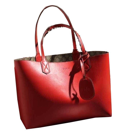 Gucci Reversible GG Leather Tote Bags 368568 Red