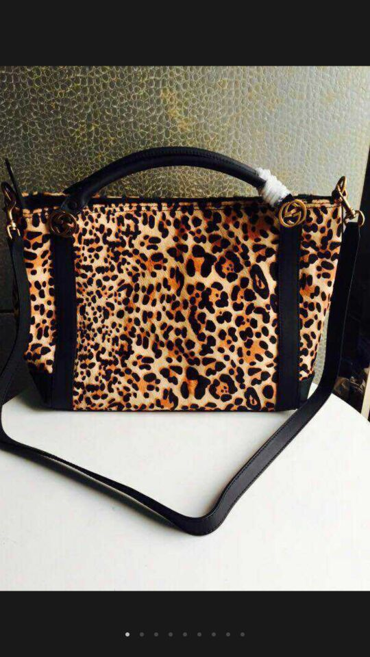Gucci Tote Bags Leopards 308332