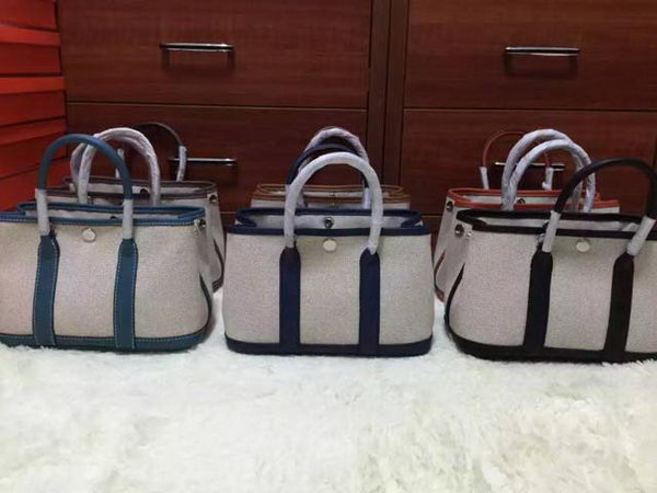 Hermes Garden Party 23cm Tote Bags Canvas HGP23C