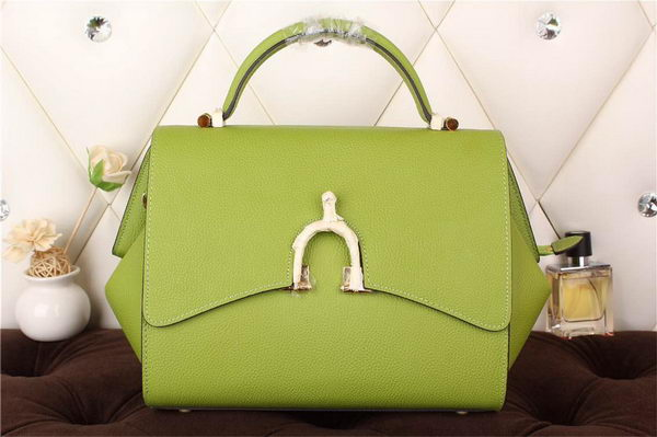 Hermes Stirrup Top Handle Bag H30560 Green