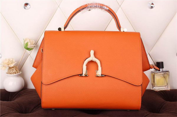 Hermes Stirrup Top Handle Bag H30560 Orange