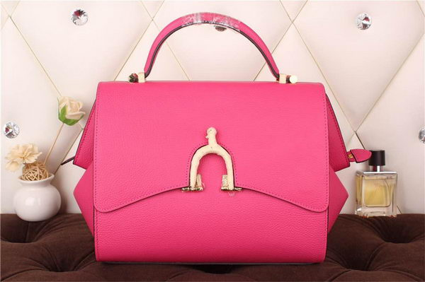 Hermes Stirrup Top Handle Bag H30560 Rose