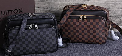 Louis Vuitton Damier Canvas Messenger Bag N95706