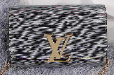 Louis Vuitton Epi Leather Chain Louise M94336 Grey