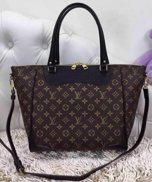 Louis Vuitton Monogram Canvas Estrela NM M51191 Black
