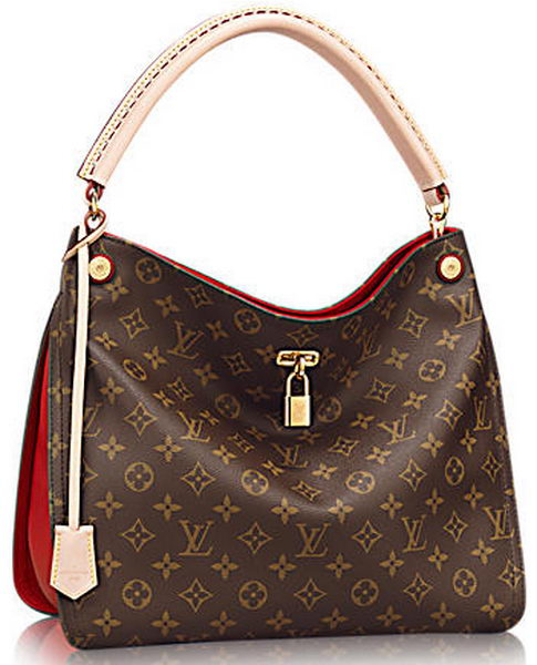 Louis Vuitton Monogram Canvas GATA Bag M41620