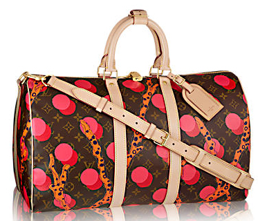 Louis Vuitton Monogram Canvas KEEPALL 45 RAMAGES M41413