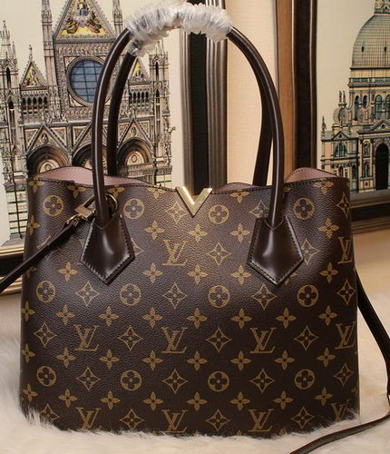 Louis Vuitton Monogram Canvas KENSINGTON Tote Bag M41435