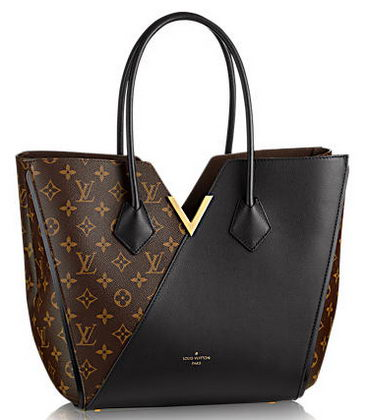 Louis Vuitton Monogram Canvas KIMONO Bag M40460 Noir