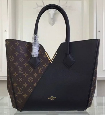 Louis Vuitton Monogram Canvas KIMONO Tote Bag M40460 Black