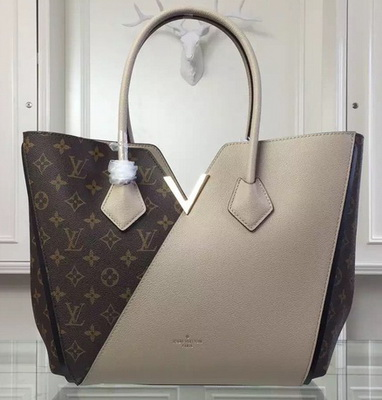 Louis Vuitton Monogram Canvas KIMONO Tote Bag M40460 Grey