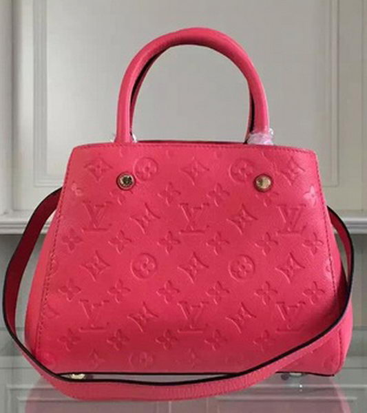 Louis Vuitton Monogram Empreinte Montaigne BB M41061 Rose