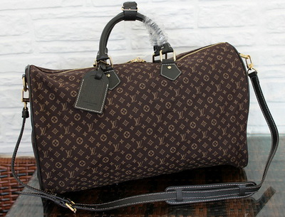 Louis Vuitton Monogram Idylle SPEEDY VOYAGE 45 Bag M56705 Fusain