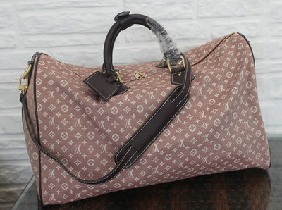Louis Vuitton Monogram Idylle SPEEDY VOYAGE 45 Bag M56705 Sepia