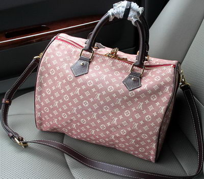 Louis Vuitton Monogram Idylle Speedy 30 With Strap M56702 Pink