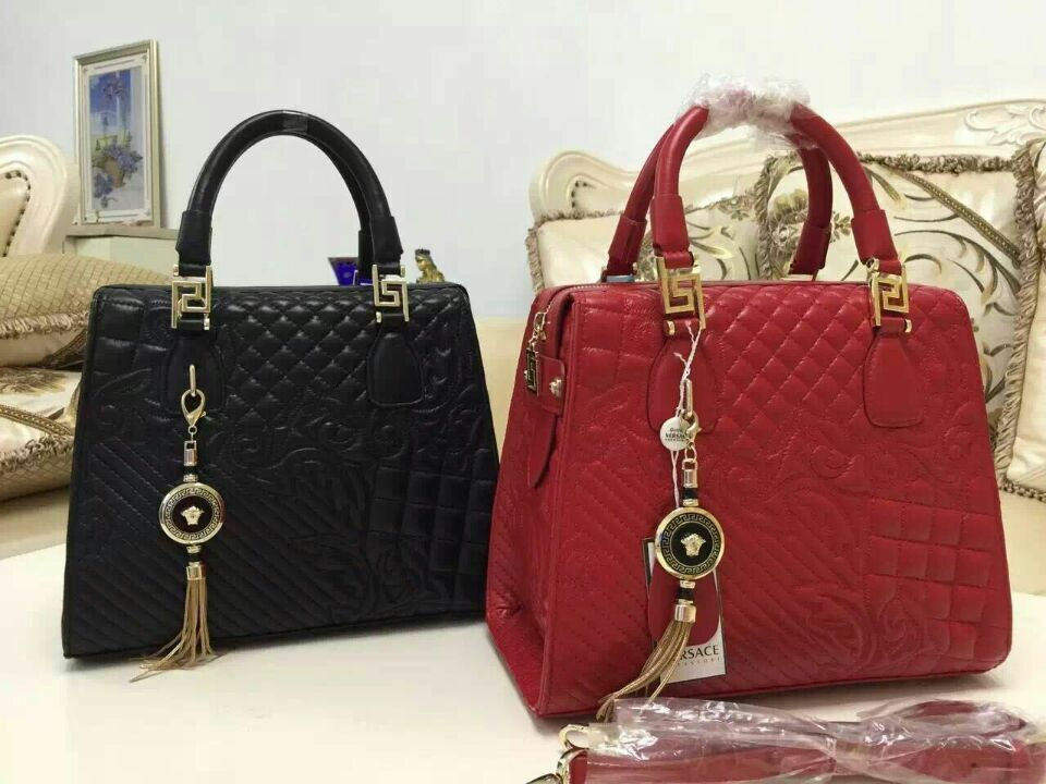 Versace Original Leather Shoulder Bag V9972