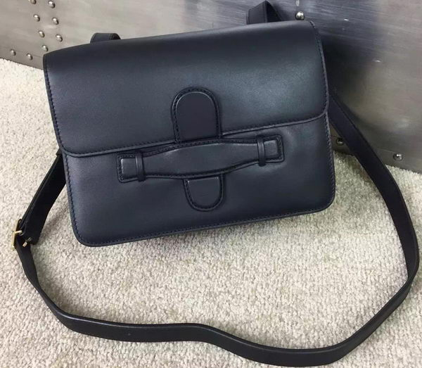 CELINE Symmetrical Bag in Original Leather C77423 Black